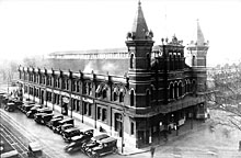 Center Market, Washington D.C., designed by Adolf Cluss, built in 1870/72