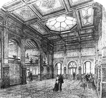 Patent Office, Great Hall, 1887