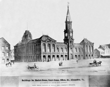 Alexandria City Hall 1871