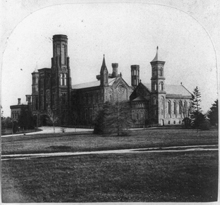 Smithsonian Castle, 1867-69