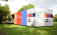 The former Cluss Cube as (k)no(w) cube, 2006